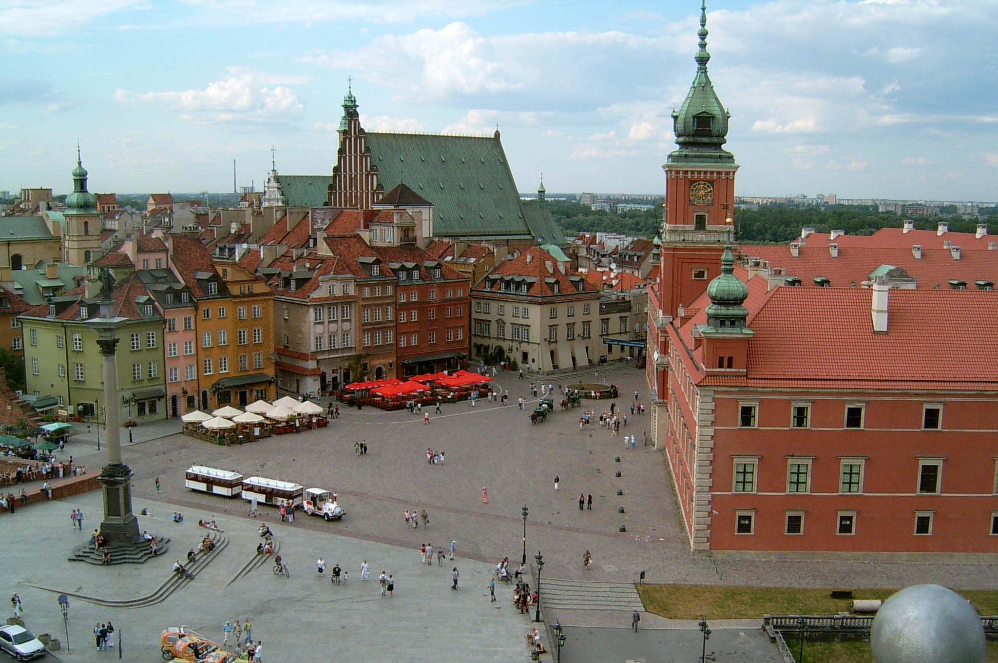 Warsaw - Roayal Castle Square